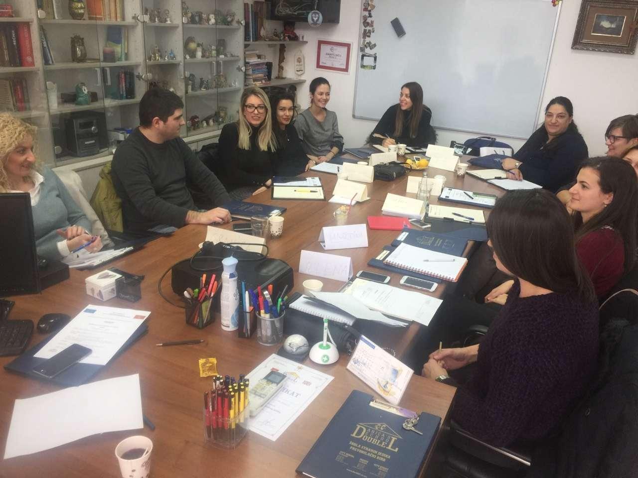 Održana obuka o usavršavanju jezičkih vještina u okviru projekta - Unapređenje znanja engleskog jezika zaposlenih u Operativnoj strukturi